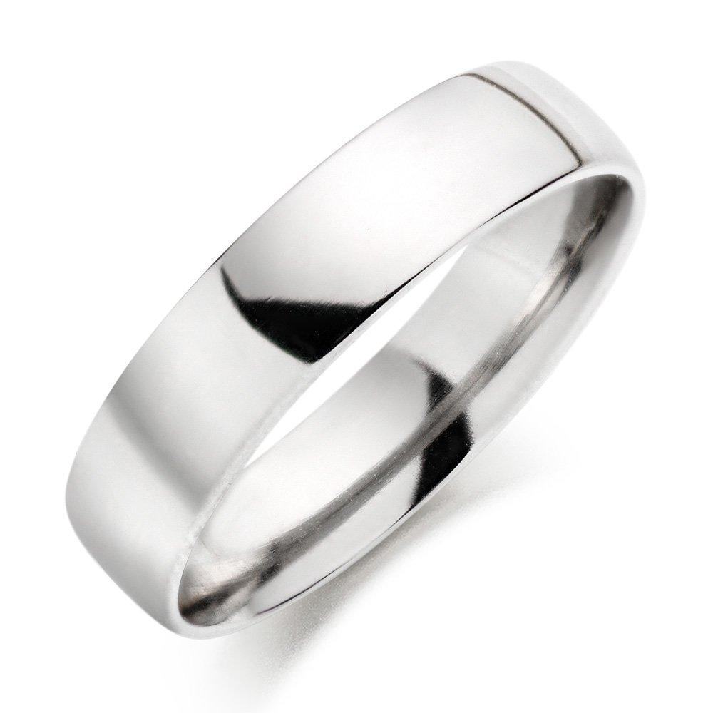 Platinum Court Wedding Ring - 5mm