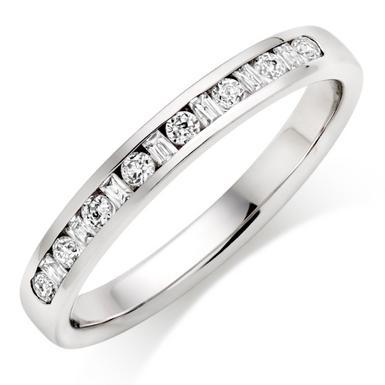 Platinum Diamond Wedding Ring