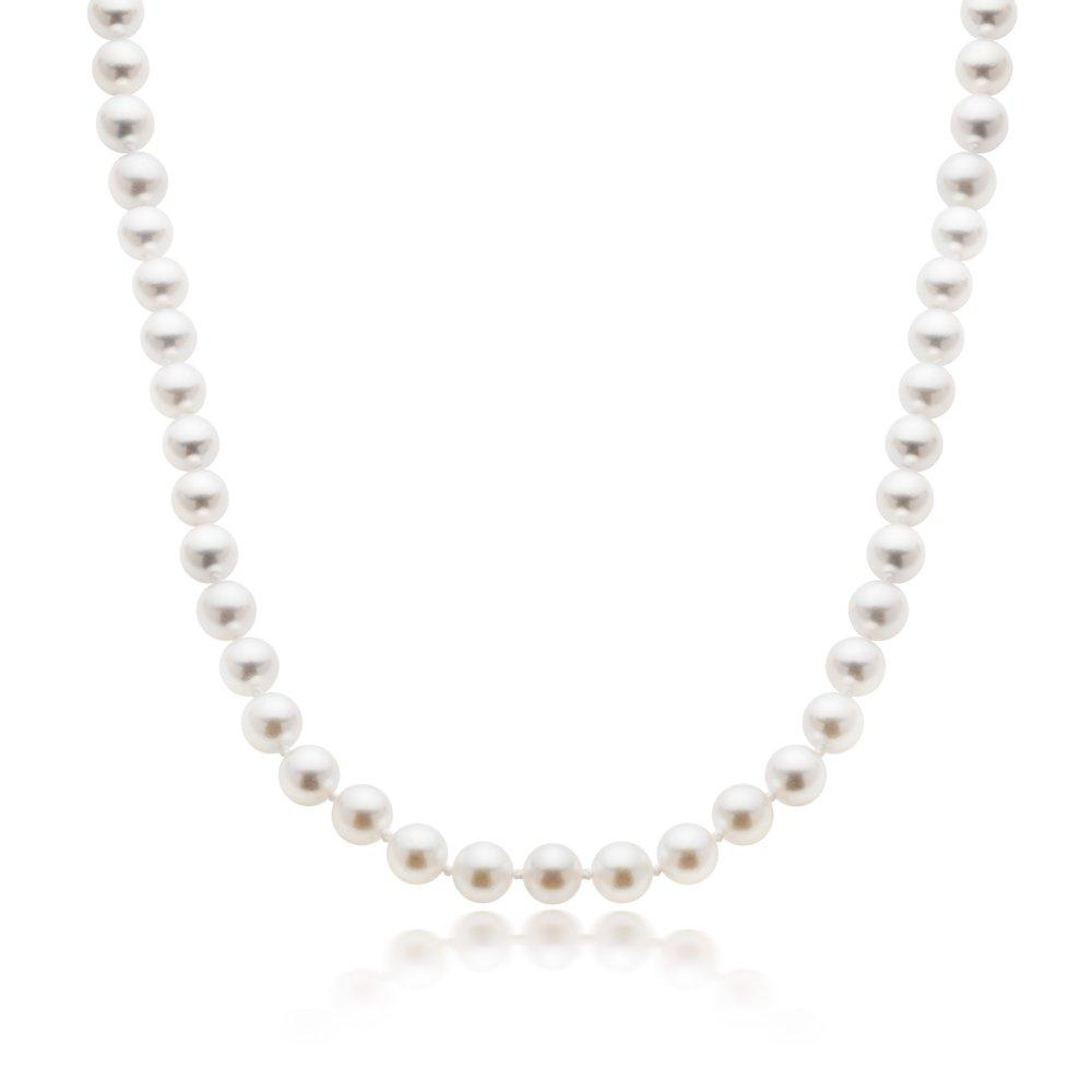 18ct Gold Freshwater Cultured Pearl Necklace