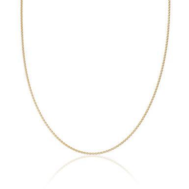 18ct Yellow Gold Spiga Chain