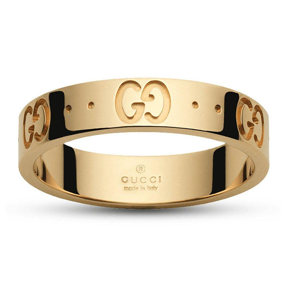 Gucci Icon 18ct Gold Ring
