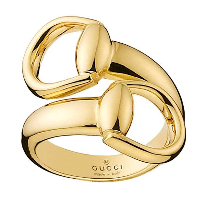 Gucci Horsebit 18ct Gold Ring