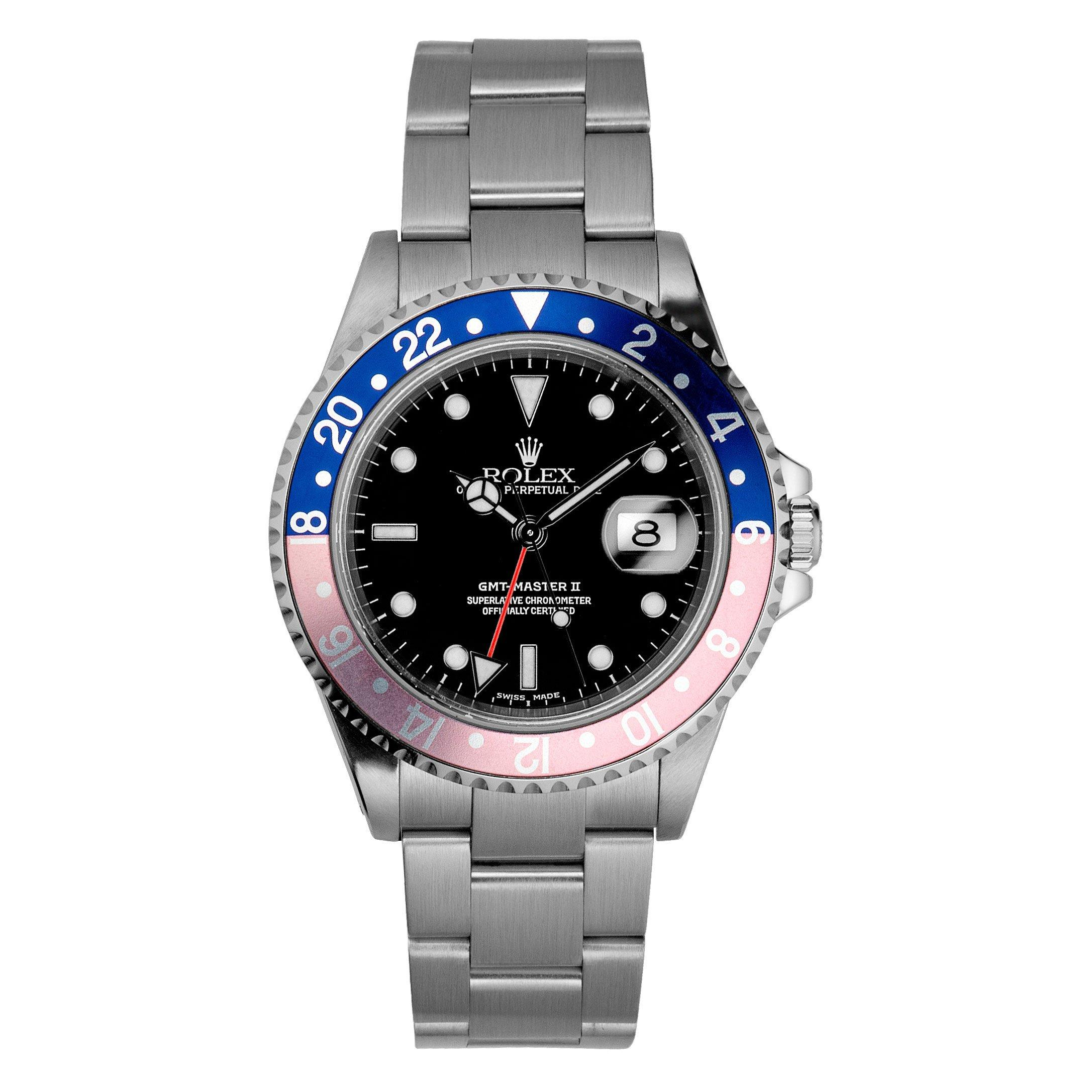 Rolex Pre-Owned GMT Master II Automatic Men's Watch